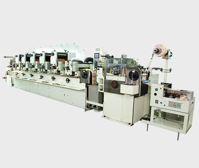 Intermittent Label Printing Machine
